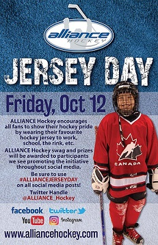 ALLIANCE Hockey Jersey Day 2018